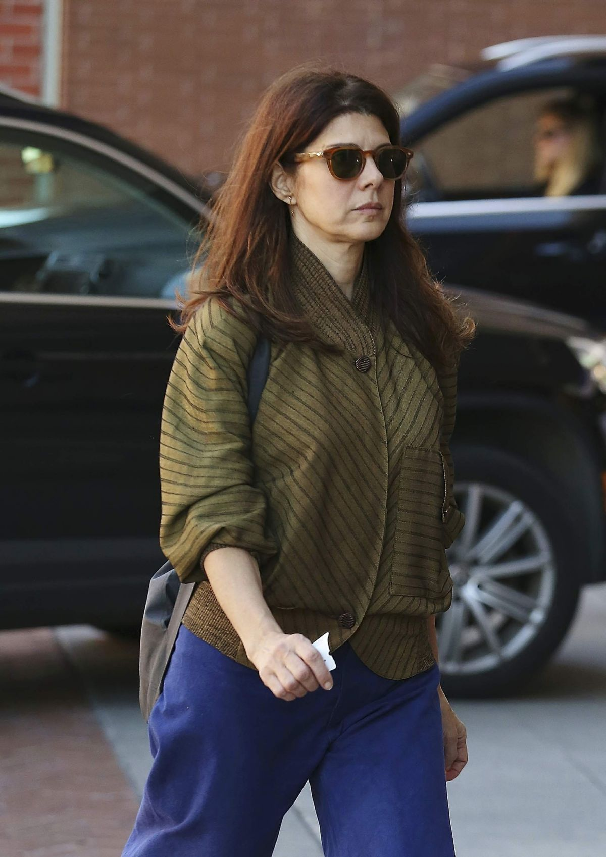 MARISA TOMEI Leaves a ...
