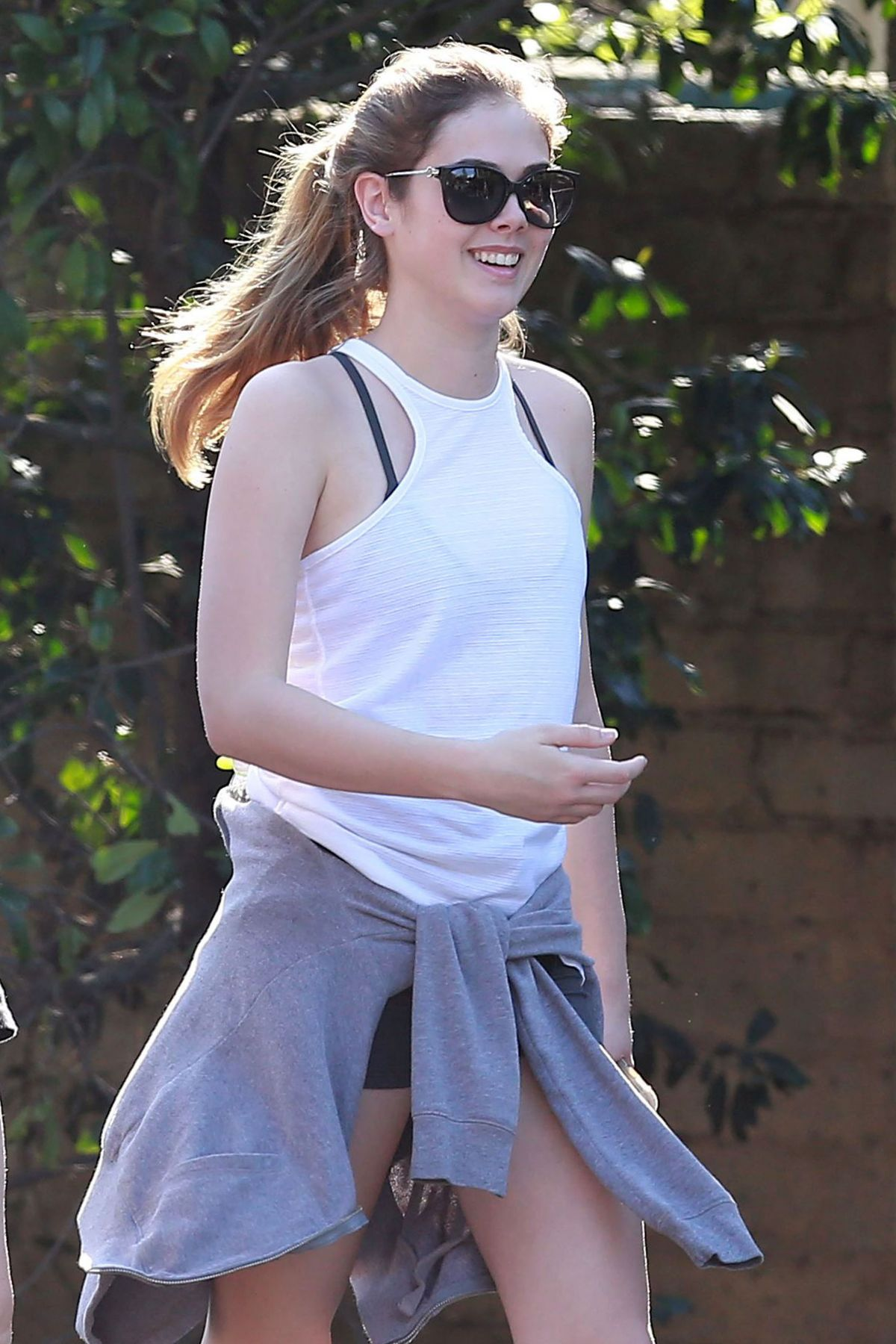 MCKALEY MILLER Out Hikinig at Coldwater Park in Los Angeles 02/24/2016