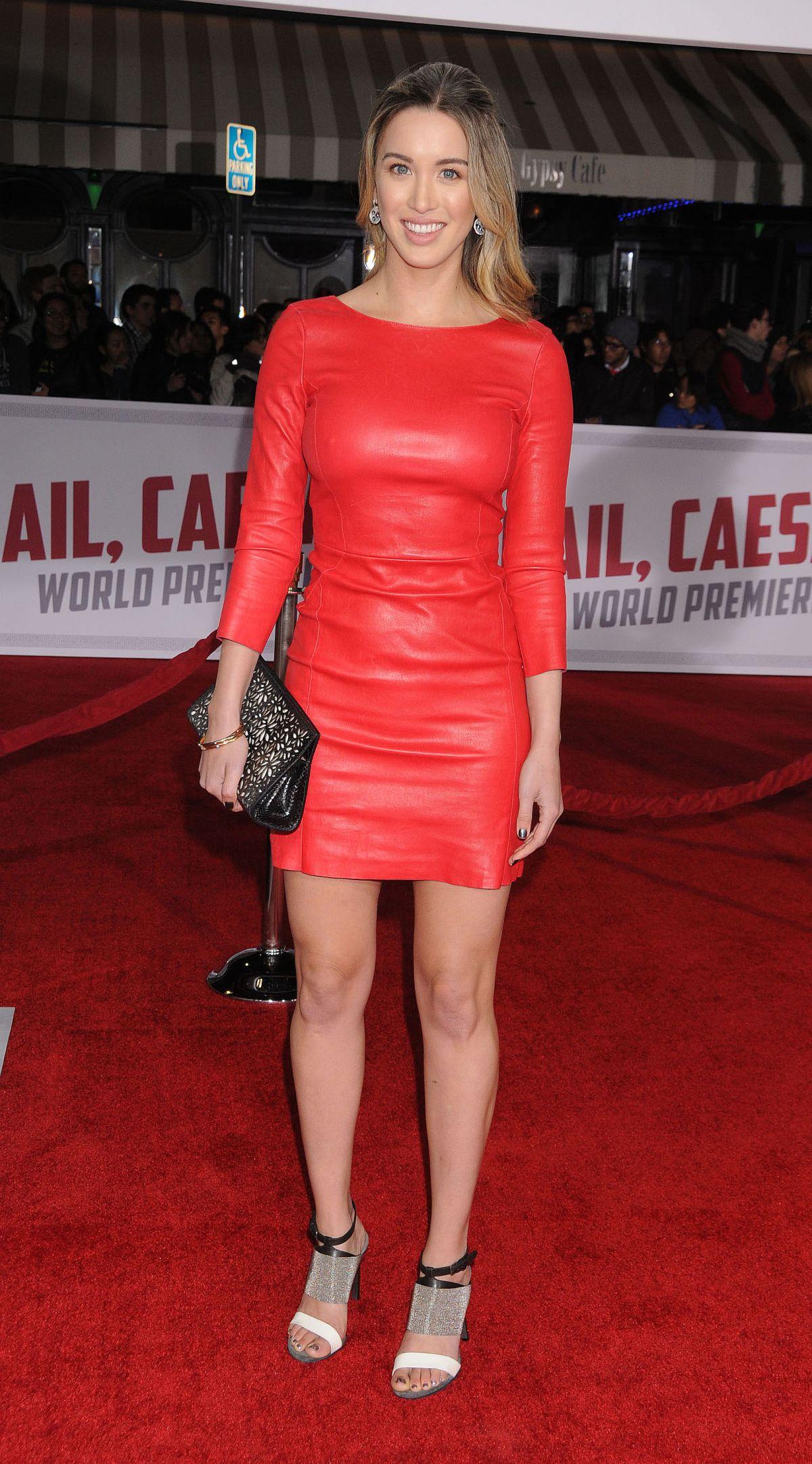 MELISSA BOLONA at Hail, Caesar Premiere in Westwood 02/01/2016