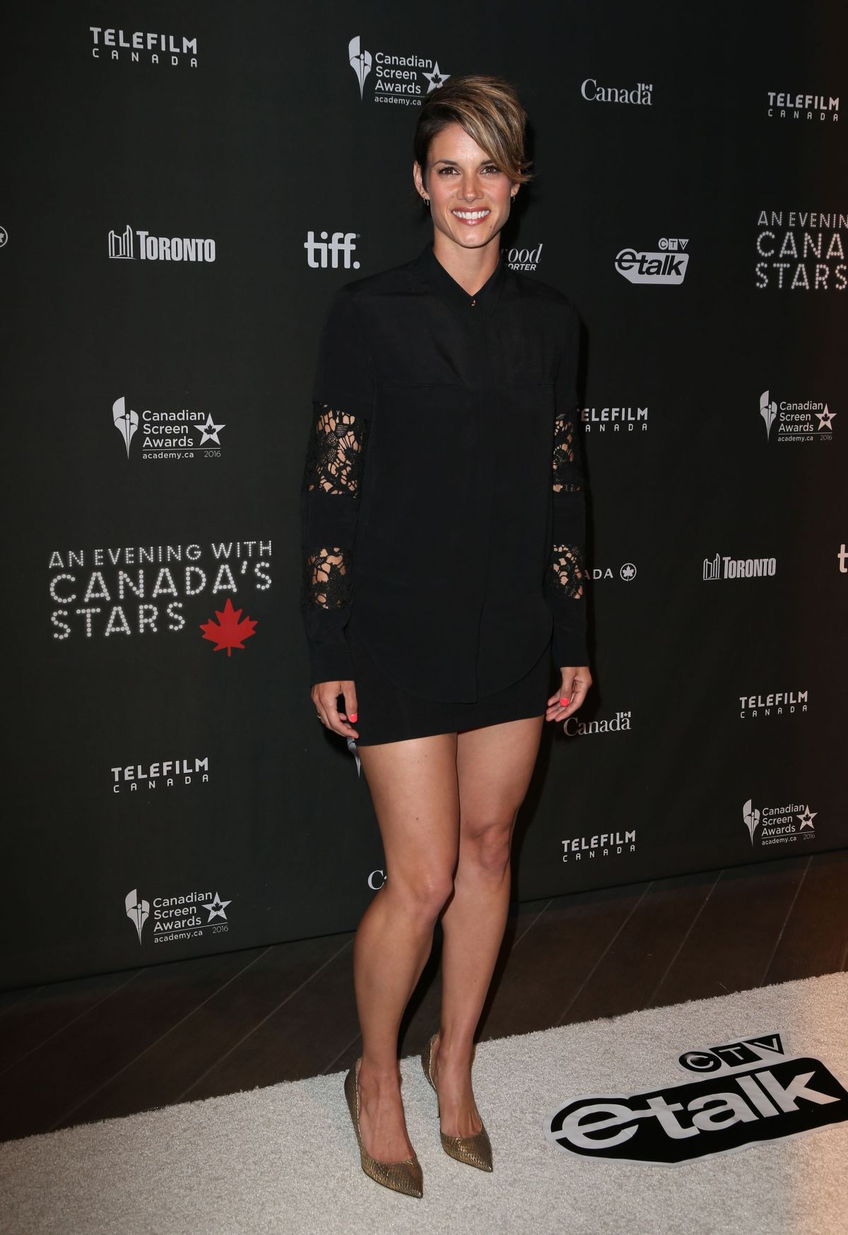 MISSY PEREGRYM at 3rd Annual An Evening with Canada's Stars in Beverly Hills 02/25/2016