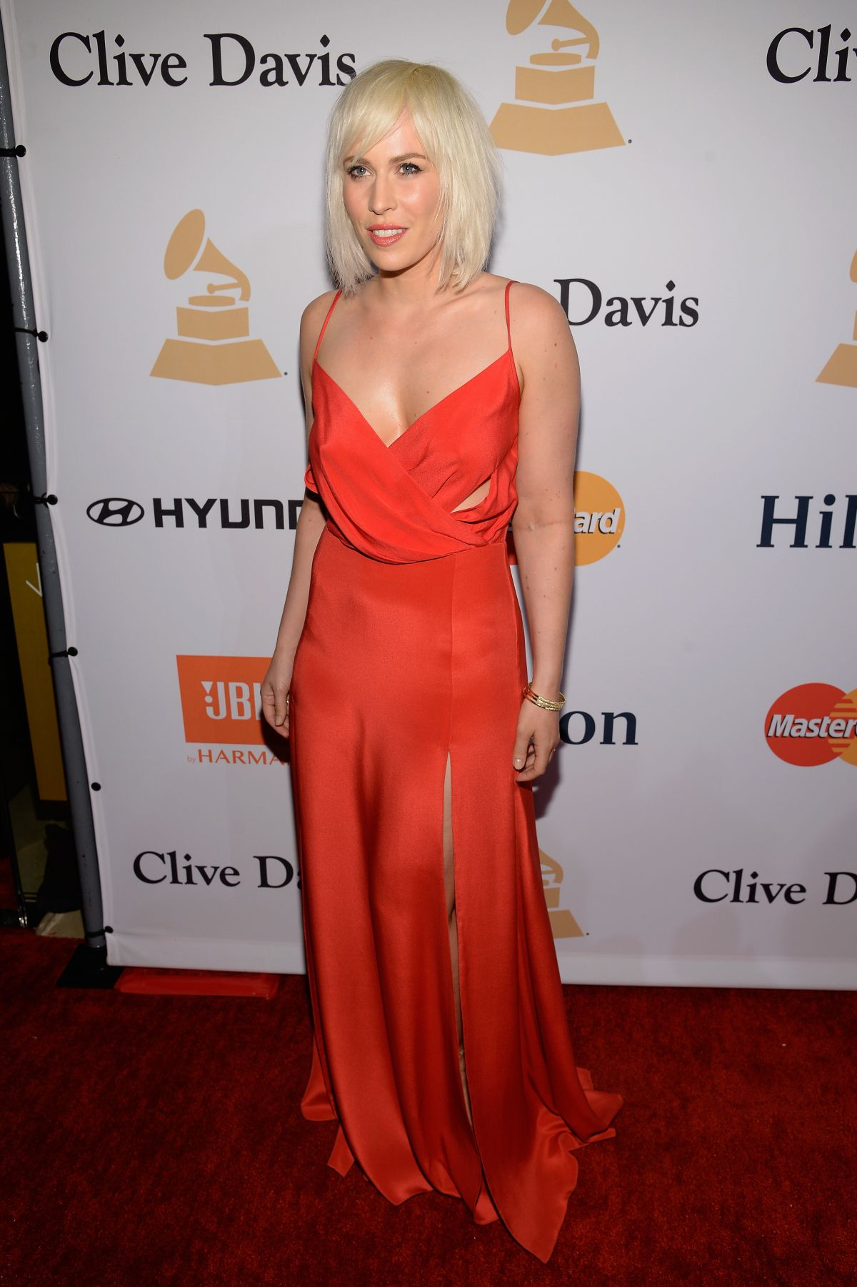 NATASHA BEDINGFIELD at 2016 Pre-grammy Gala and Salute to Industry Icons in Beverly Hills 02/14/2016