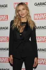NATASHA POLY at Marvel & Garage Magazine Party in New York 02/11/2016