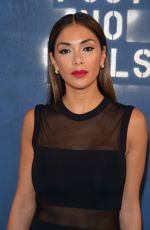 NICOLE SCHERZINGER at Alice + Olivia by Stacey Bendet Fall 2016 Fashion Show at NYFW 02/16/2016