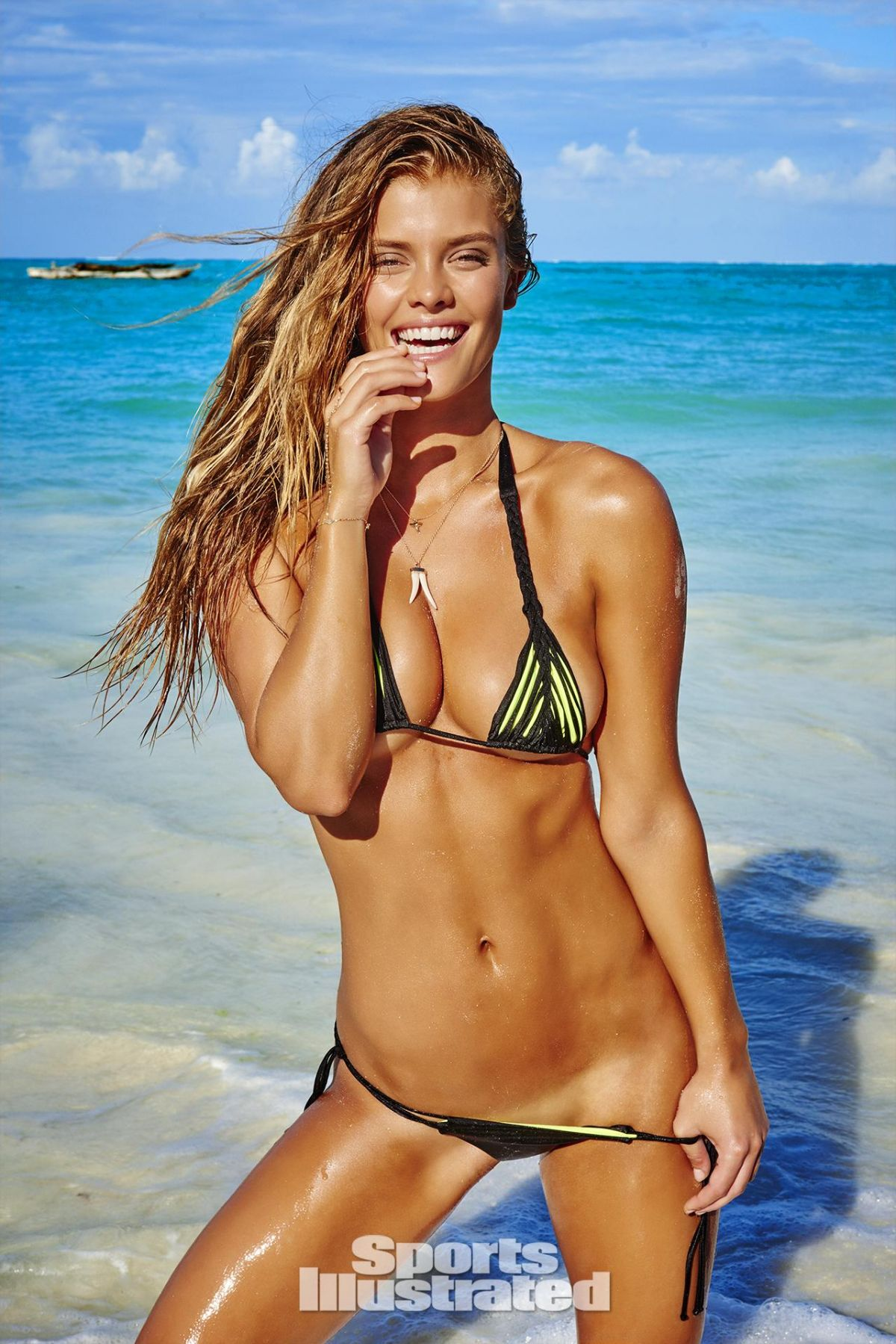 NINA AGDAL in Sports Illustrated Swimsuit Issue 2016 - HawtCelebs ...