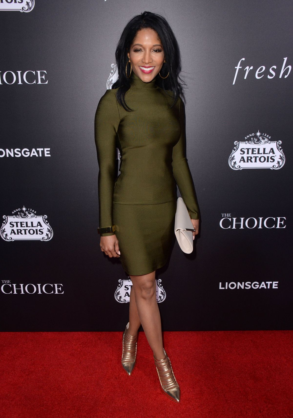 NOREE VICTORIA at The Choice Premiere in Hollywood 02/01/2016