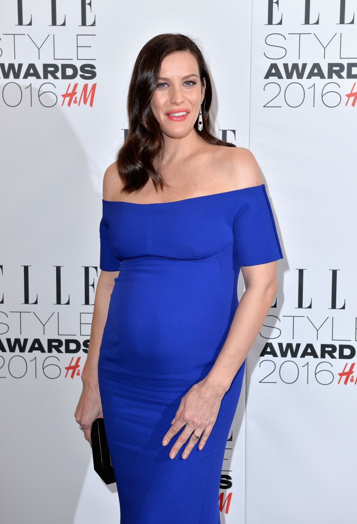 Groovy Pregnant Liv Tyler At Elle Style Awards In London 02 23 2016 Short Hairstyles Gunalazisus