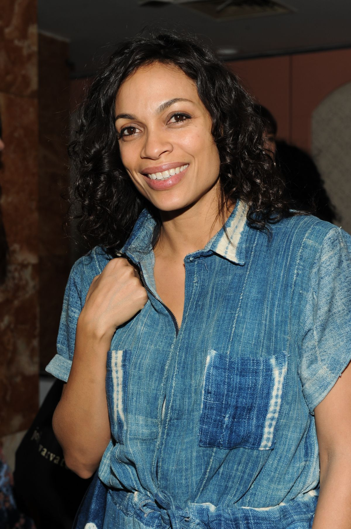 ROSARIO DAWSON at New York Fashion Week After Party 02/14/216
