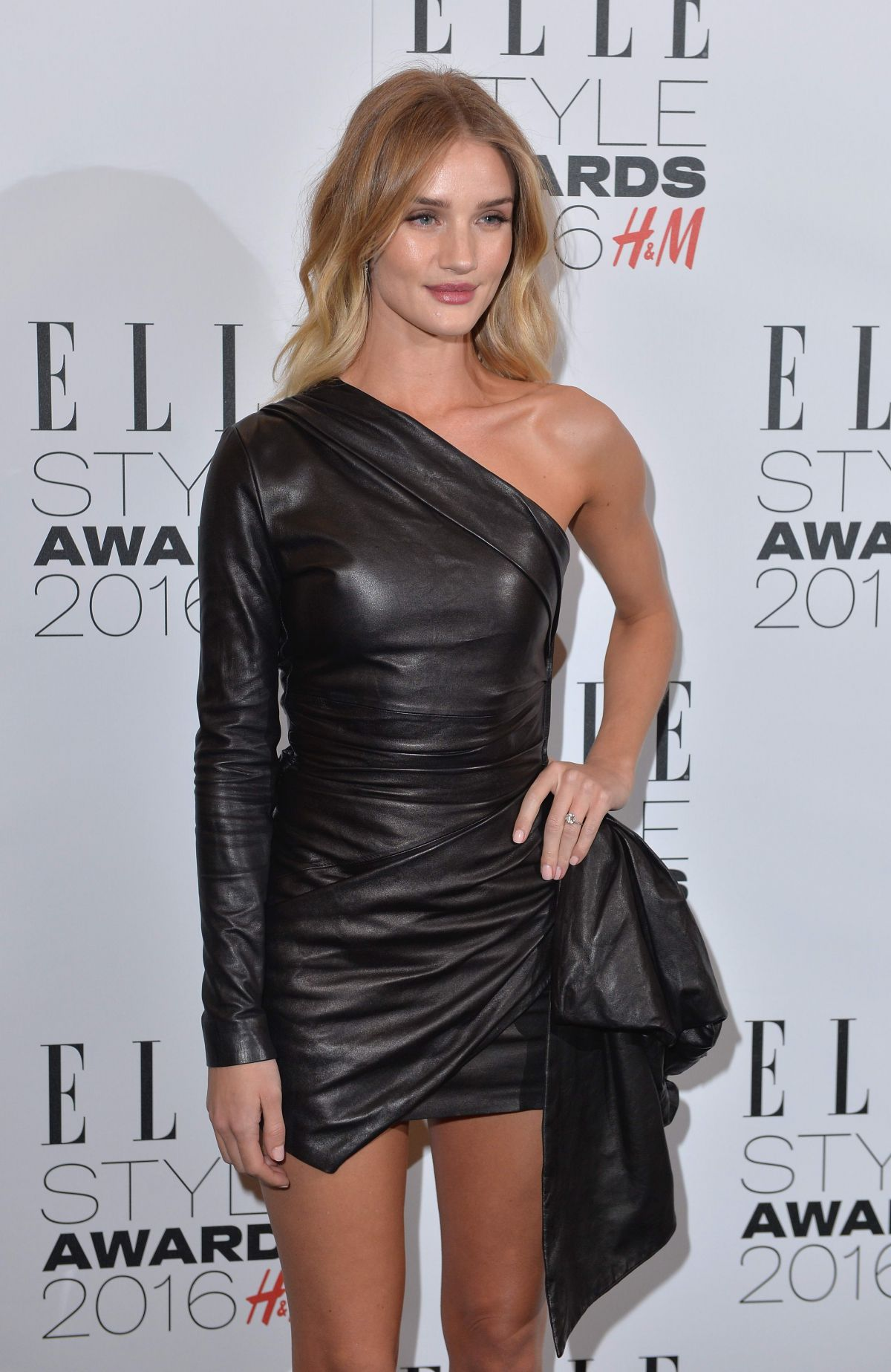 ROSIE HUNTINGTON-WHITELEY at Elle Style Awards in London 02/23/2016