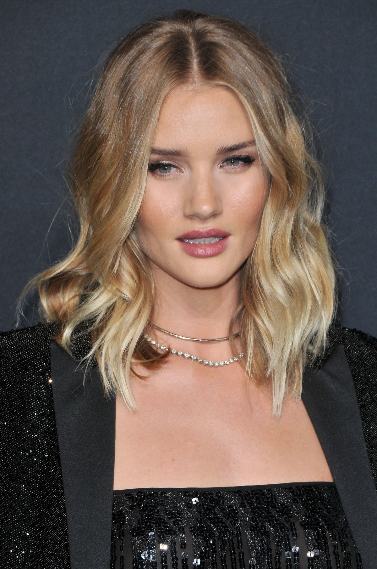 ROSIE HUNTINGTON-WHITELEY at Saint Laurent Fashion Show in ... Rosie Huntington Whiteley