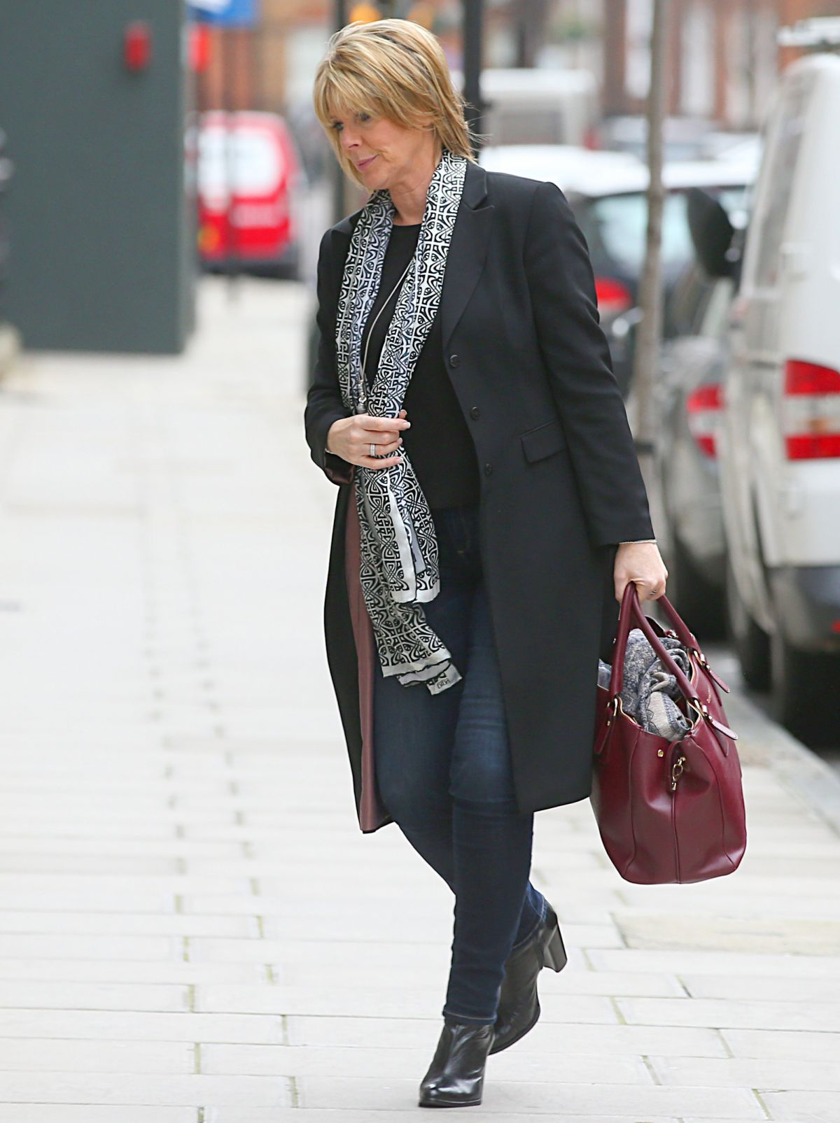 RUTH LANGSFORD Arrives at a Hospital in London 02/05/2016