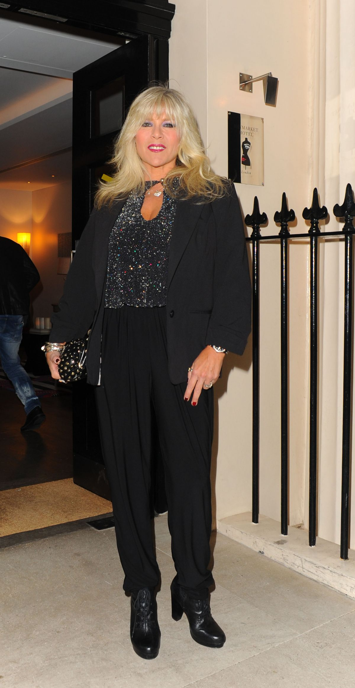 SAMANTHA FOX at Leona Lewis x Kiss Nails Launch in London 02/10/2016