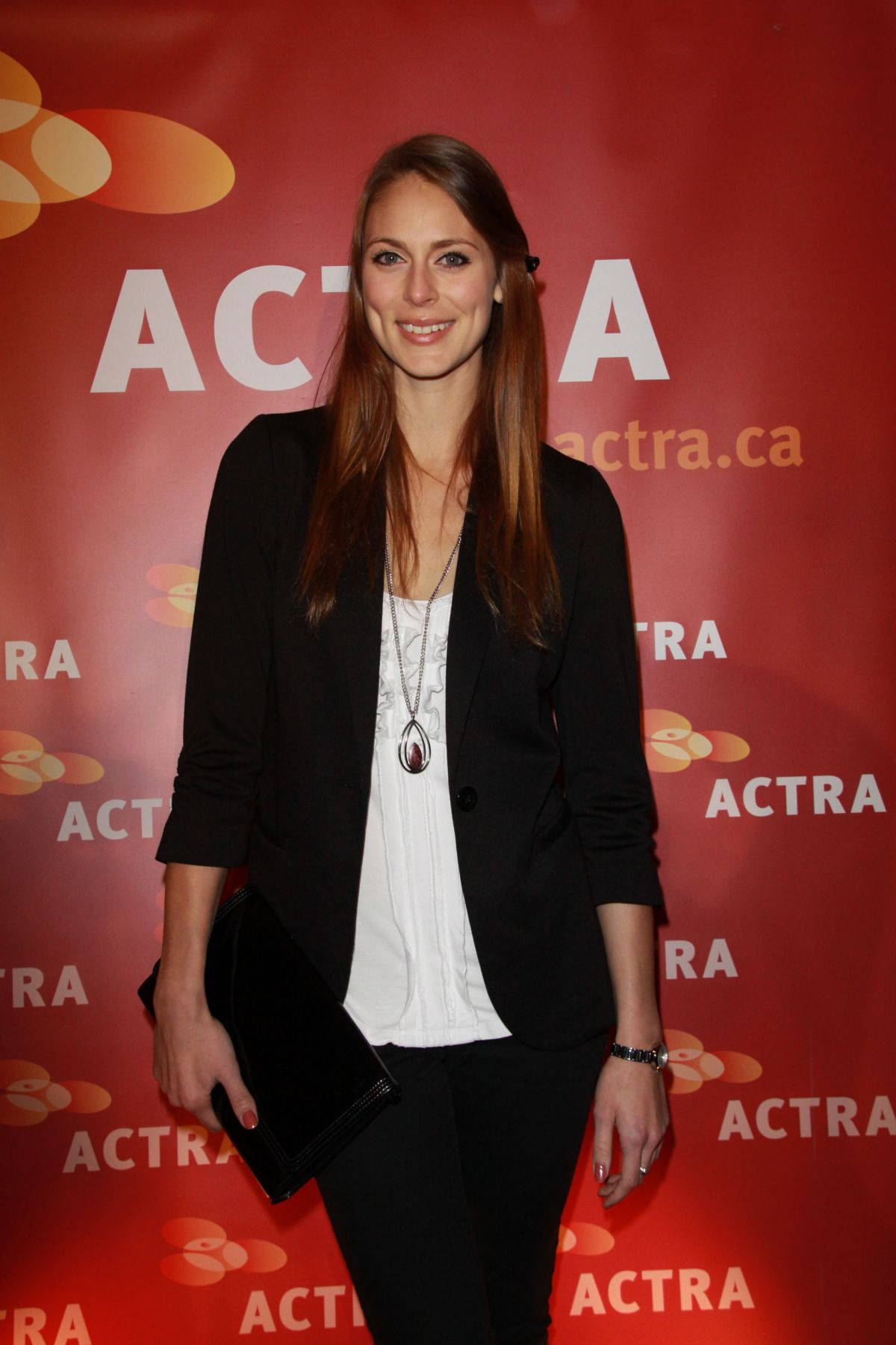 SARA MITICH at 2016 actra National Award of Excellence Honoring Neve Campbell in Beverly Hills 01/31/2016