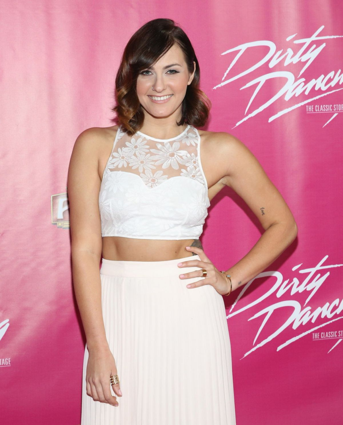 SCOUT TAYLOR-COMPTON at Dirty Dancing the Classic Story on Stage Opening Night in Hollywood 02/02/2016