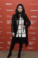 SELENA GOMEZ at The Fundamentals of Caring Premiere at 2016 Sundance Film Festival 01/29/2016
