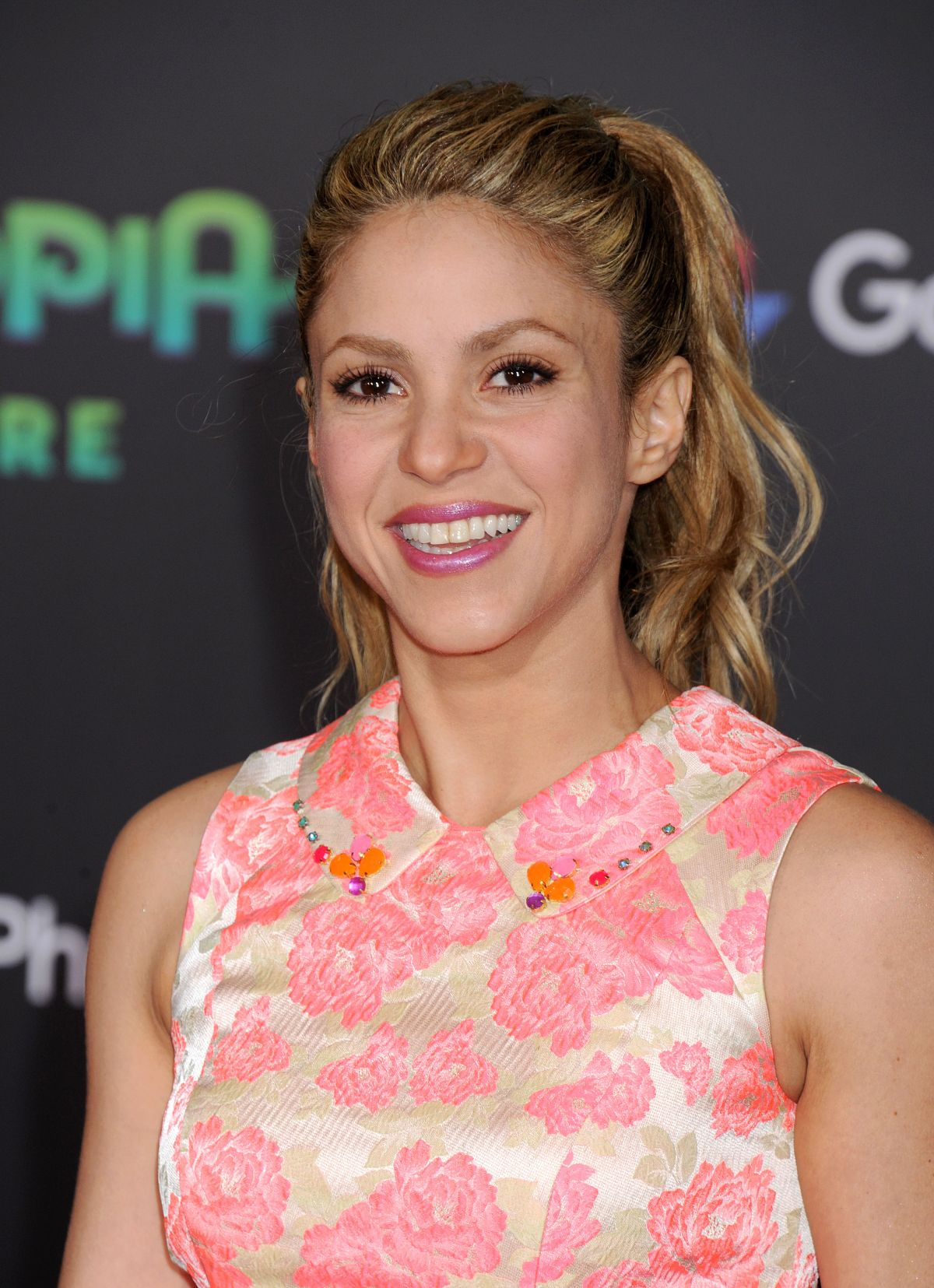 Shakira At Zootopia Premiere In Los Angeles 02 17 2016