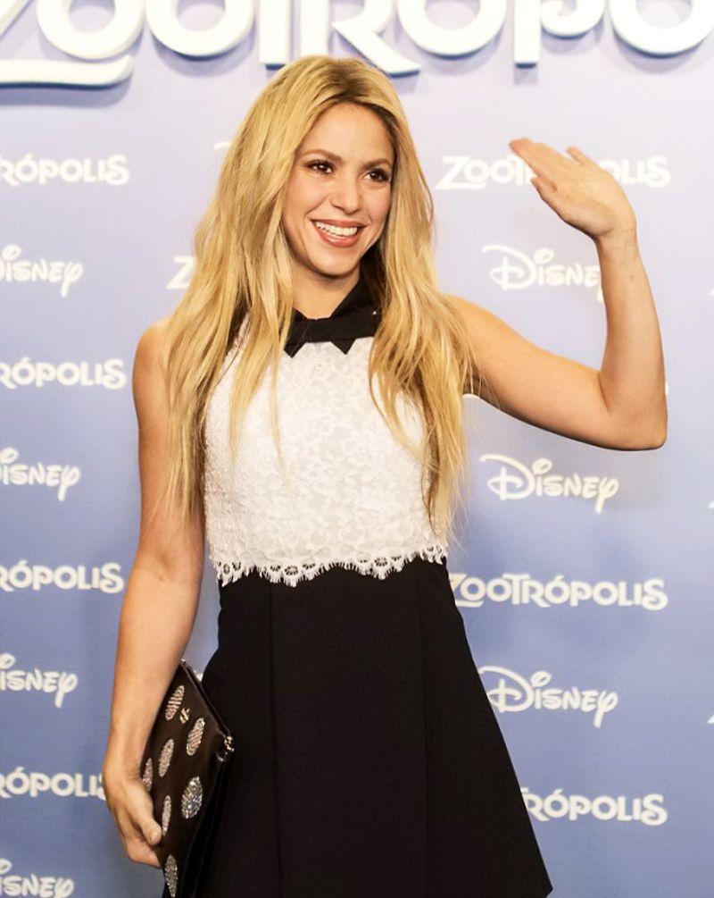 Shakira At Zootropolis Premiere In Barcelona 02 03 2016