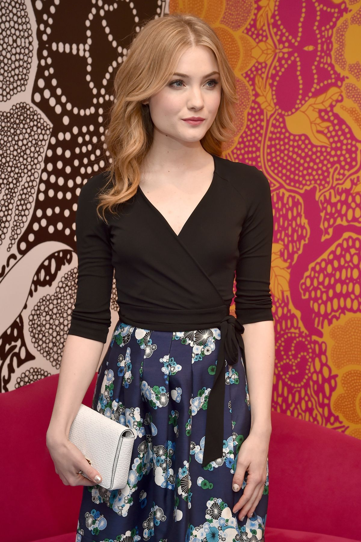 SKYLER SAMUELS at Diane Von Furstenberg Fall 2016 Fashion Show at NYFW 02/14/2016