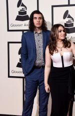 SOPHIE SIMMONS at Grammy Awards 2016 in Los Angeles 02/15/2016