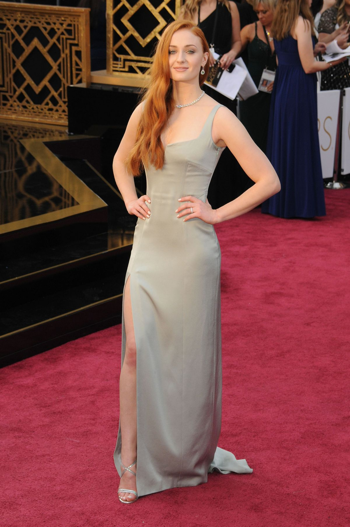 Sophie Turner At 88th Annual Academy Awards In Hollywood 02 28 2016 10 Hawtcelebs