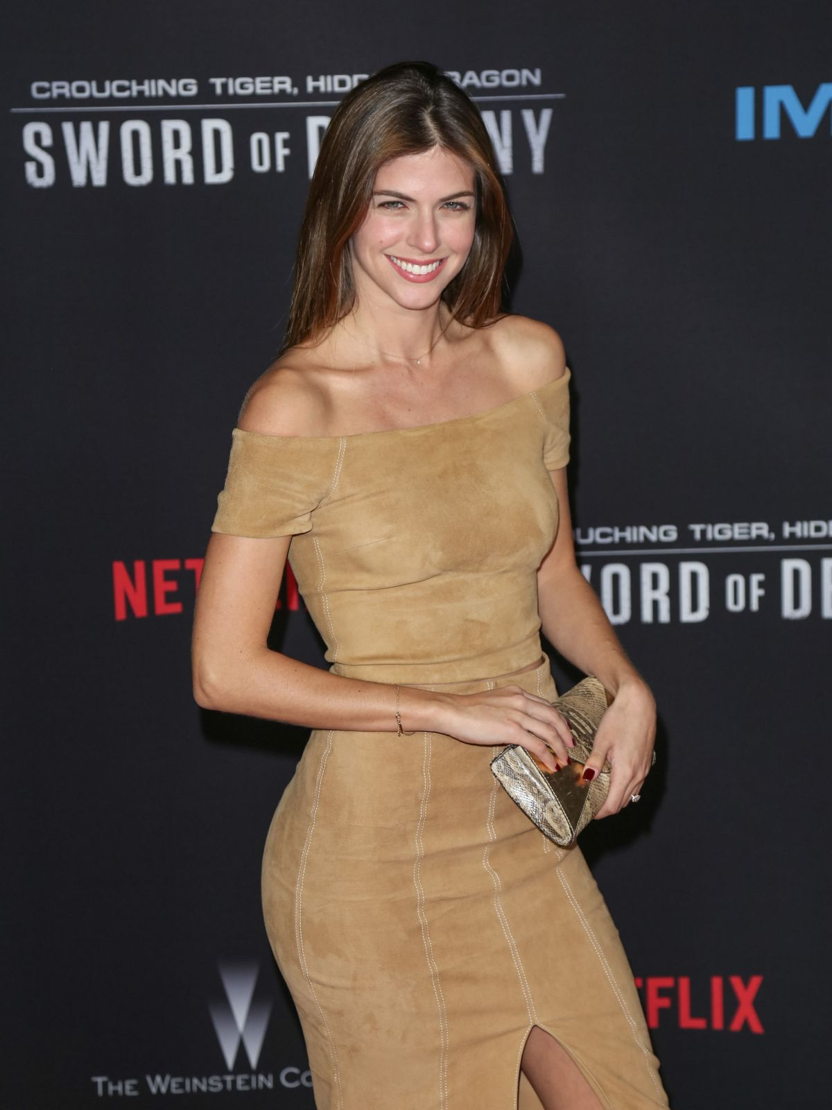 STEPHANIE CAYO at Crouching Tiger, Hidden Dragon: Sword of Destiny Premiere in Universal City 02/22/2016