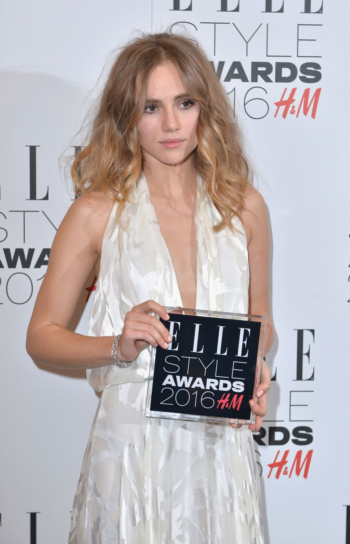 SUKI WATERHOUSE at Elle Style Awards in London 02/23/2016