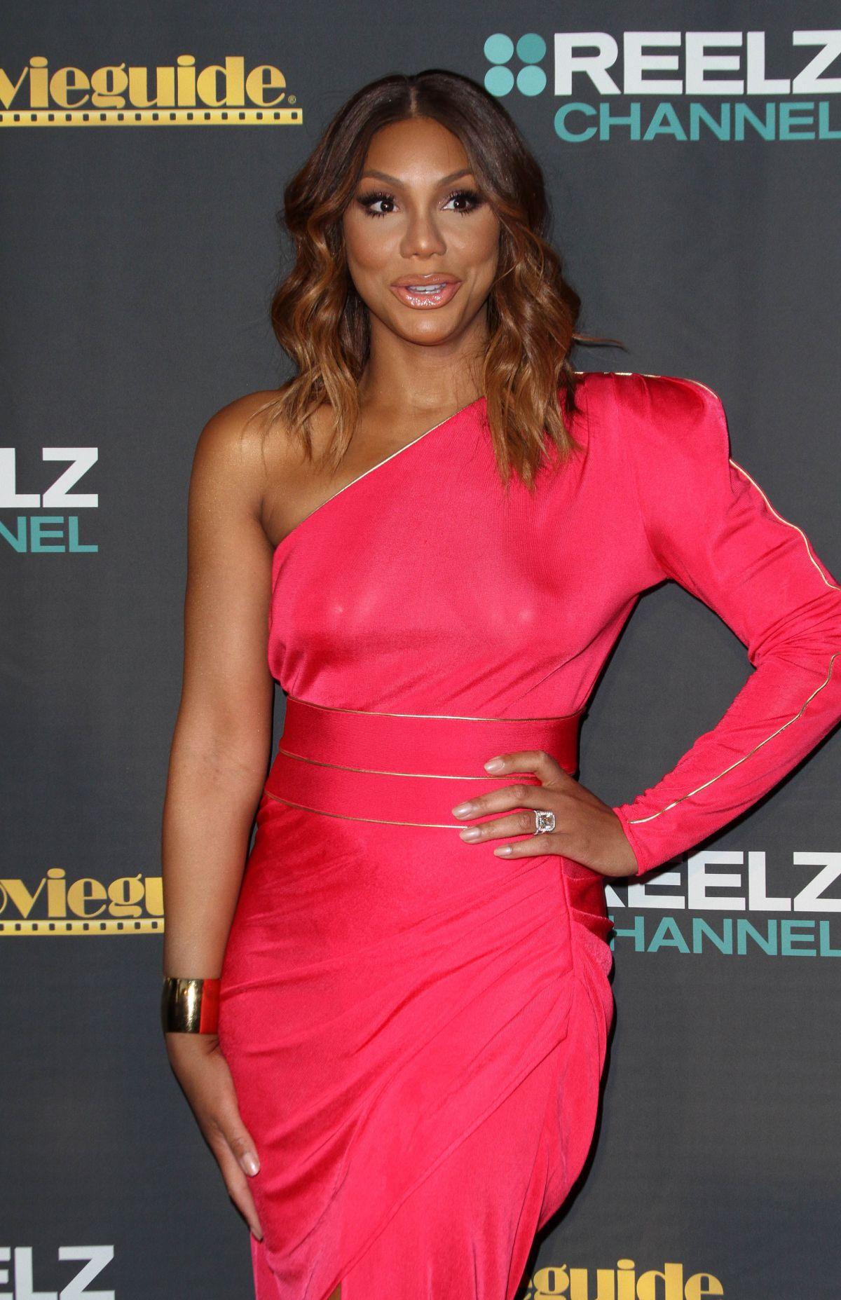 TAMAR BRAXTON at Movieguide Awards 2016 in Los Angeles 02/05/2016