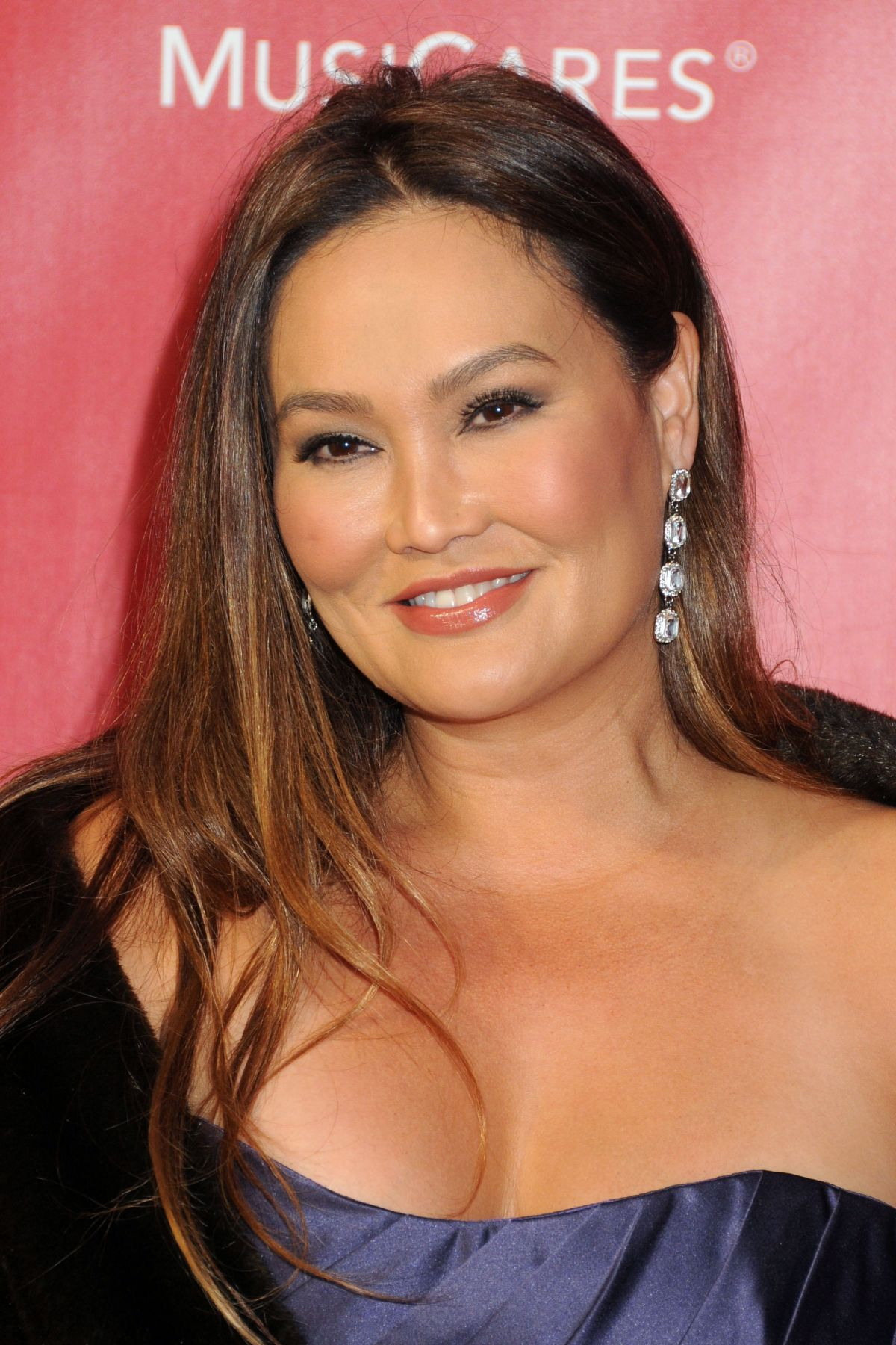 TIA CARRERE at 2016 Musicares Person of the Year Honoring Lionel Richie in Los Angeles 02/13/2016