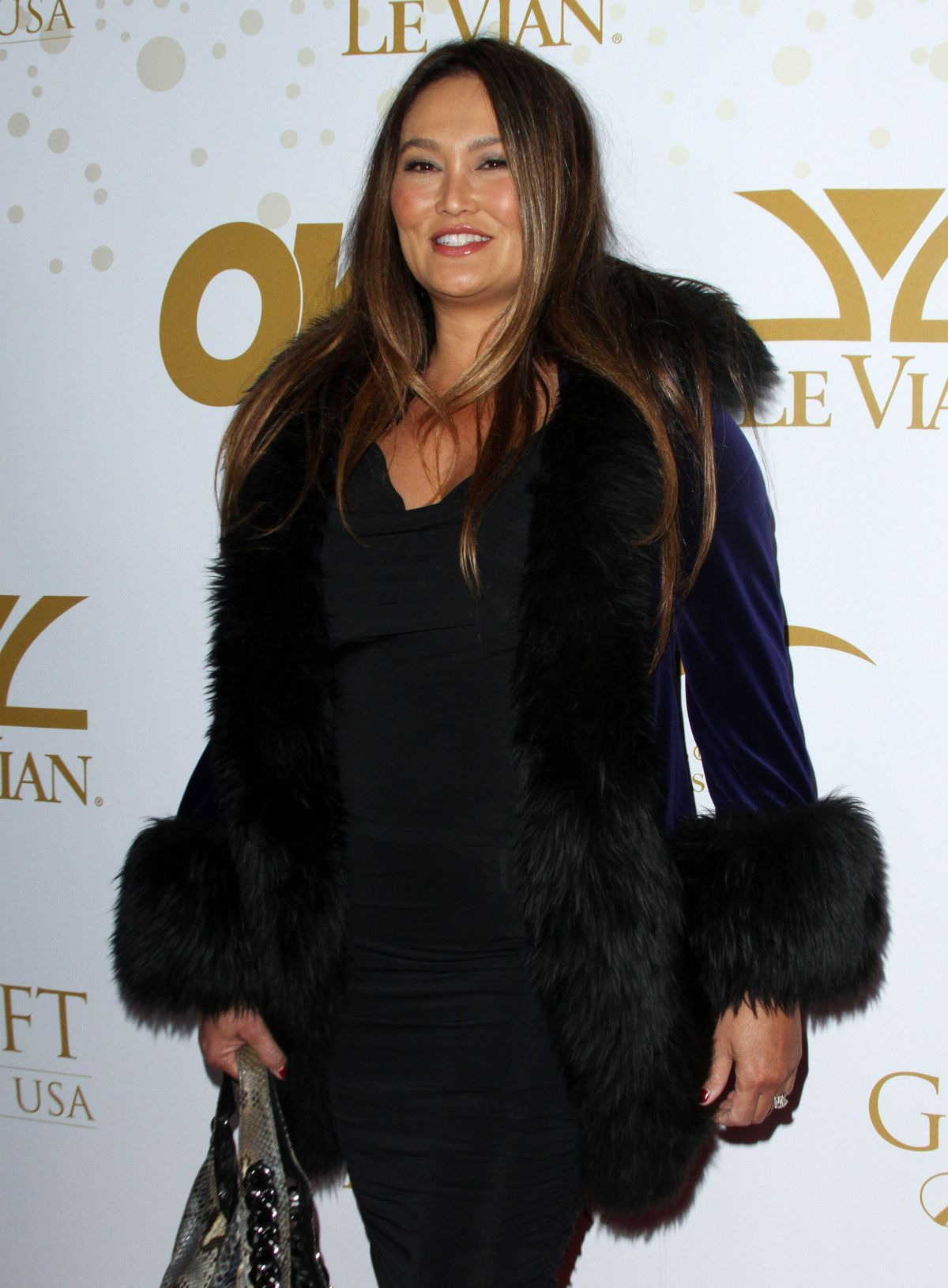 TIA CARRERE at OK! Pre-oscar Party in Los Angeles 02/25/2016