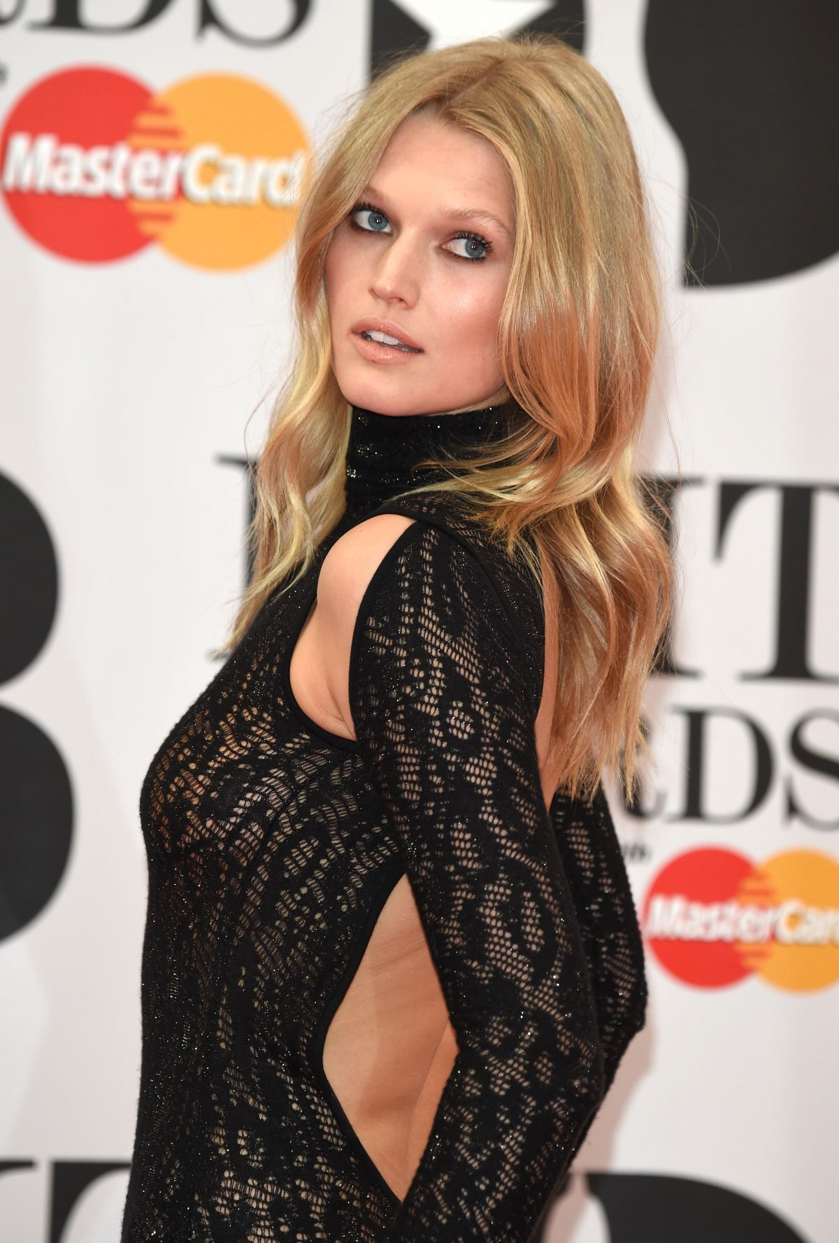 TONI GARRN at Brit Awards 2016 in London 02/24/2016