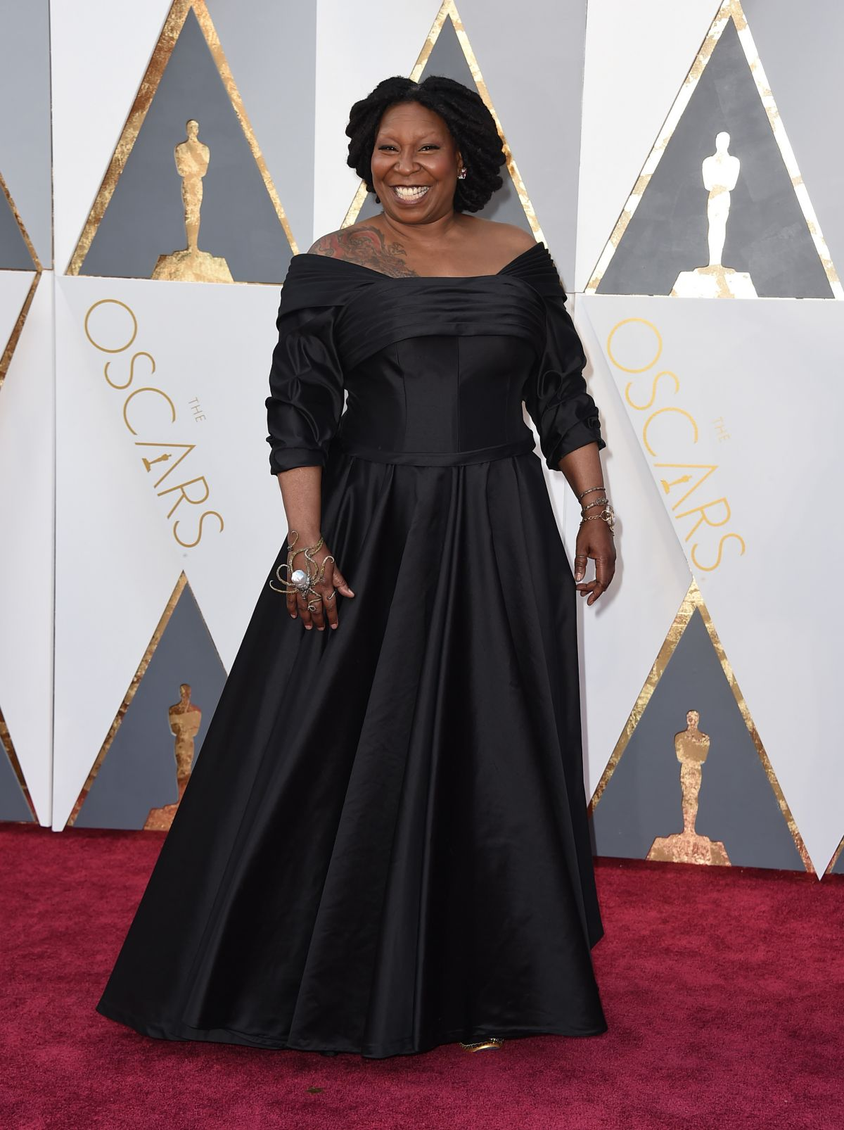 WHOOPI GOLDBERG at 88th Annual Academy Awards in Hollywood 02/28/2016