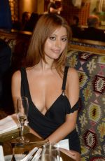 ZAHIA DEHAR at Peruvian Restaurant Manko Opening in Paris