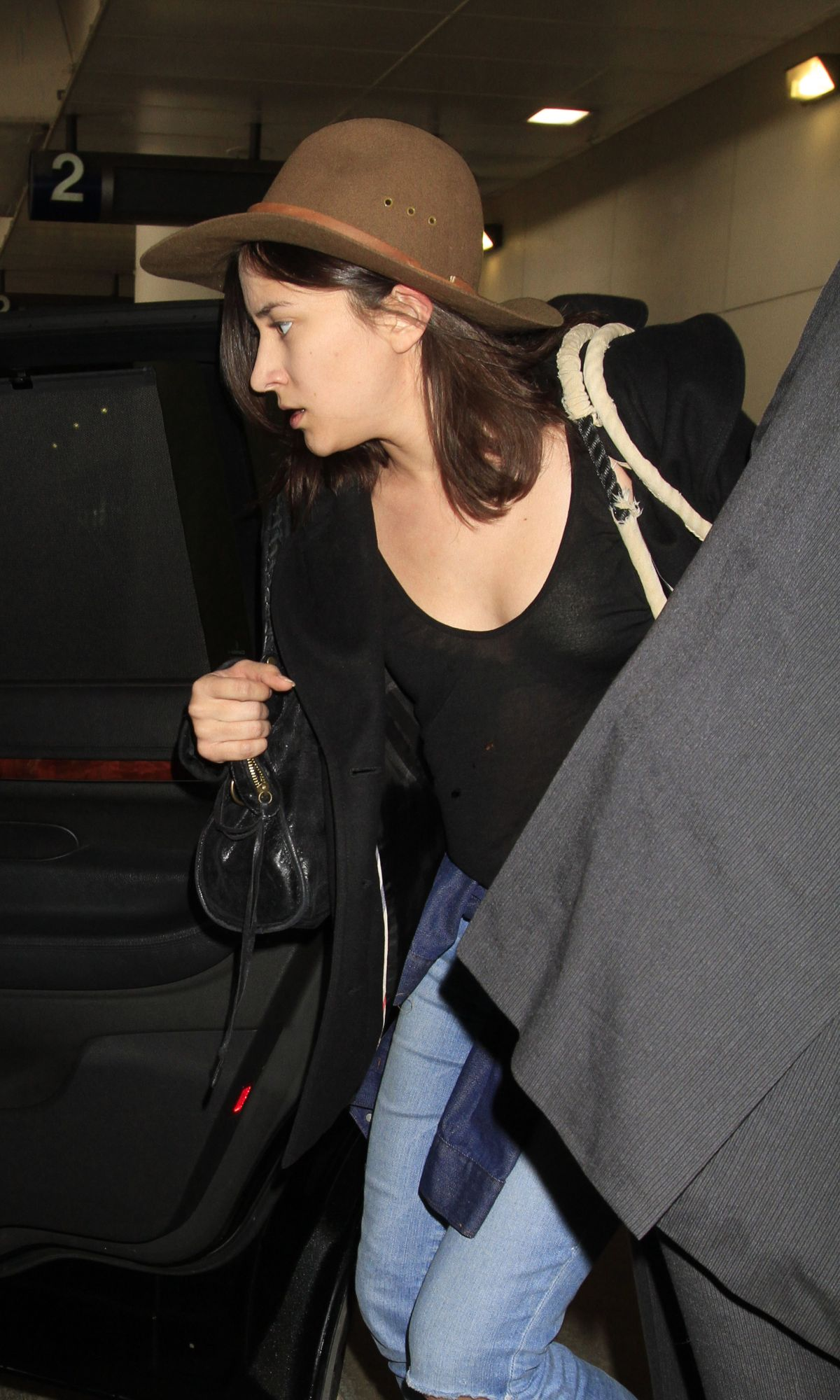 ZELDA WILLIAMS at LAX Airport in Los Angeles 02/05/2016
