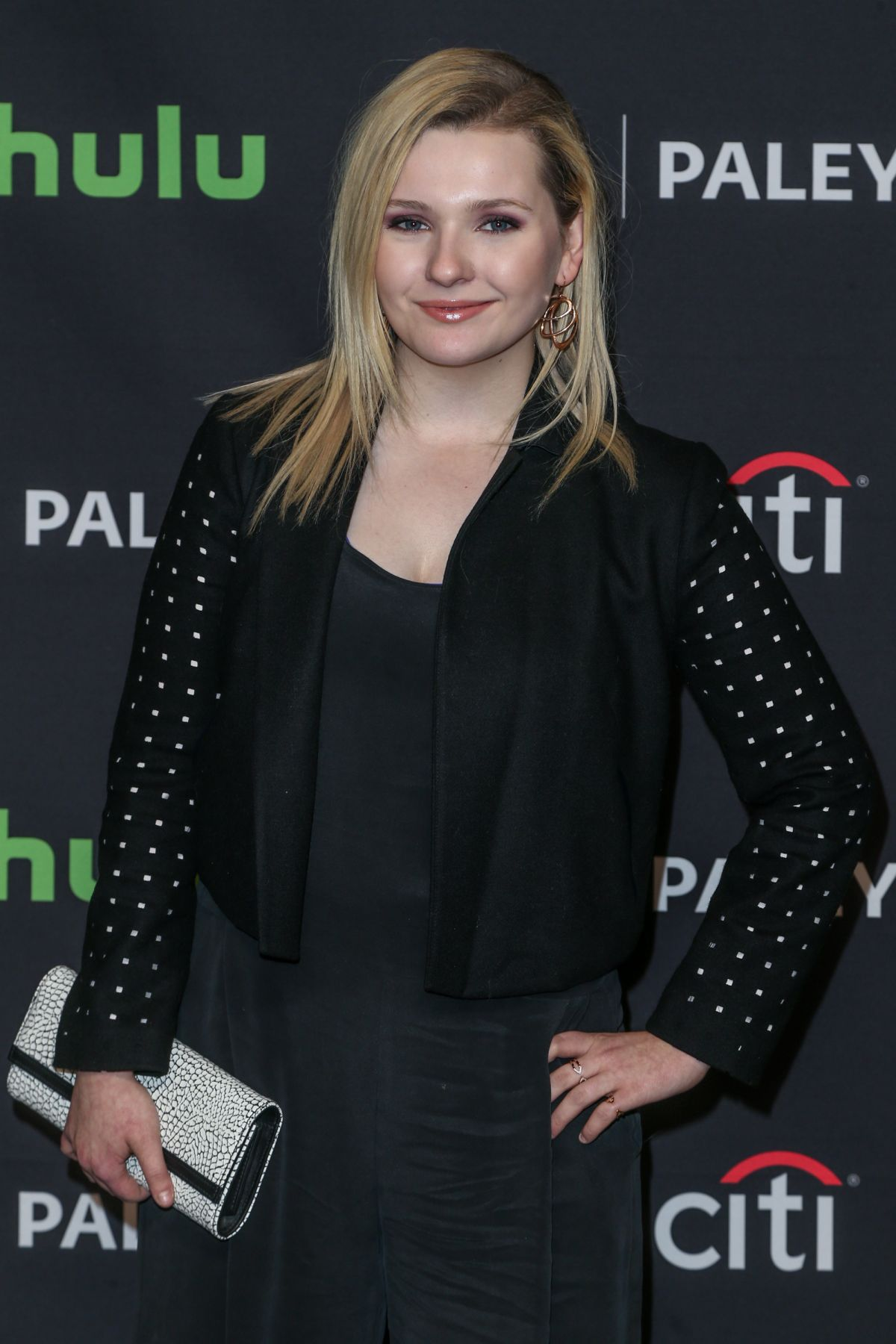 ABIGAIL BRESLIN at 33rd Annual Paleyfest Los Angeles