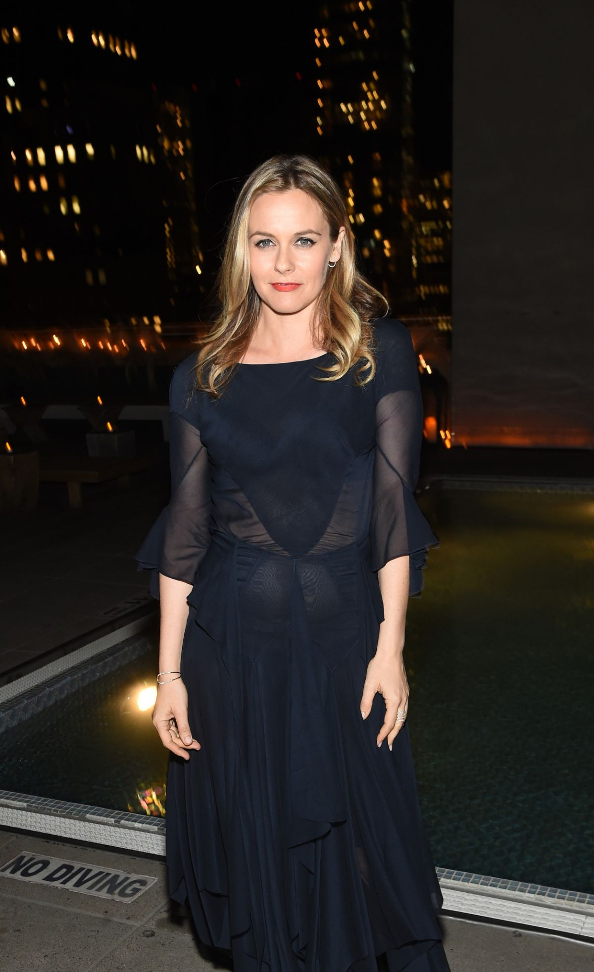 ALICIA SILVERSTONE at Cinema Society & Self Host a