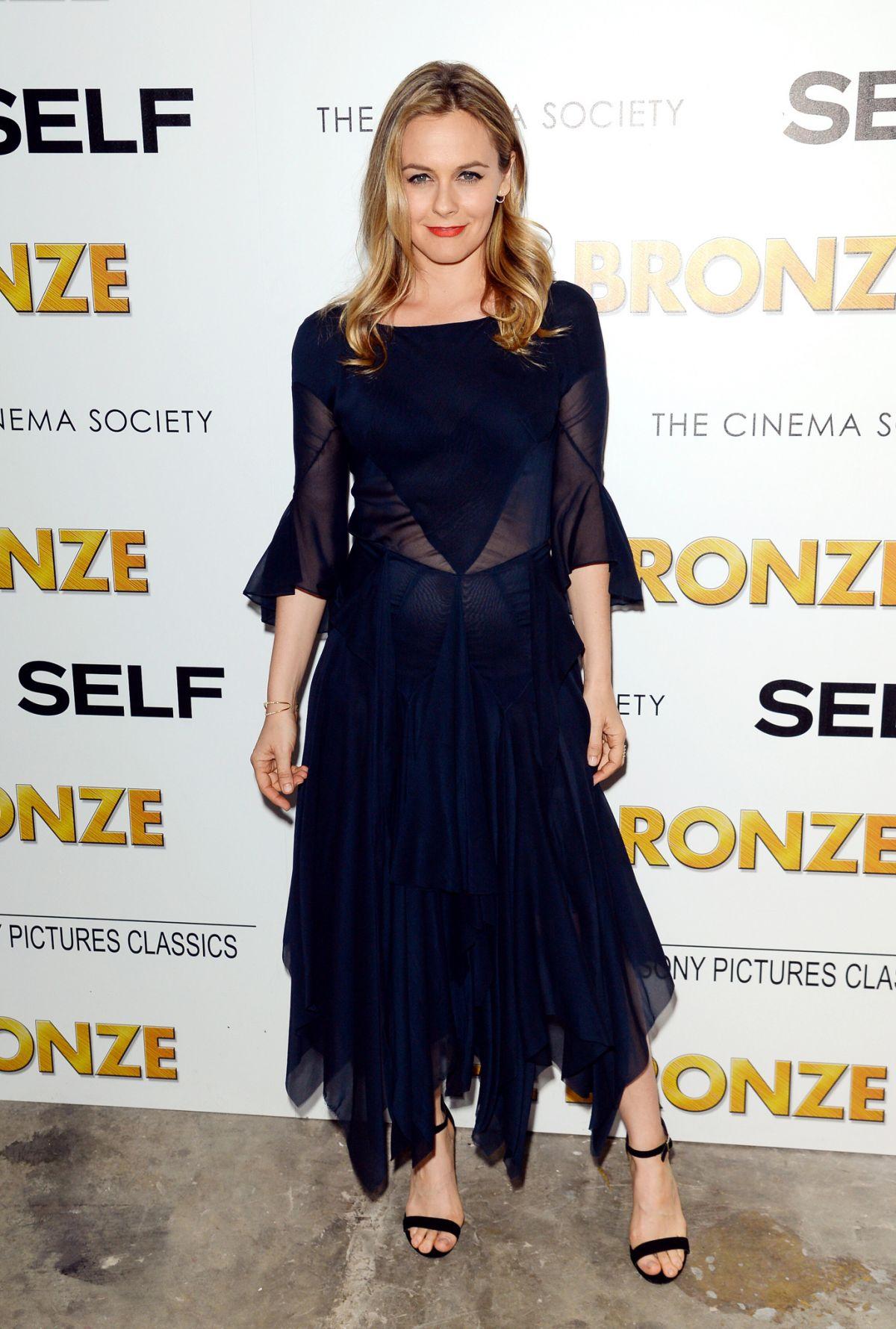 ALICIA SILVERSTONE at Cinema Society & Self Host a