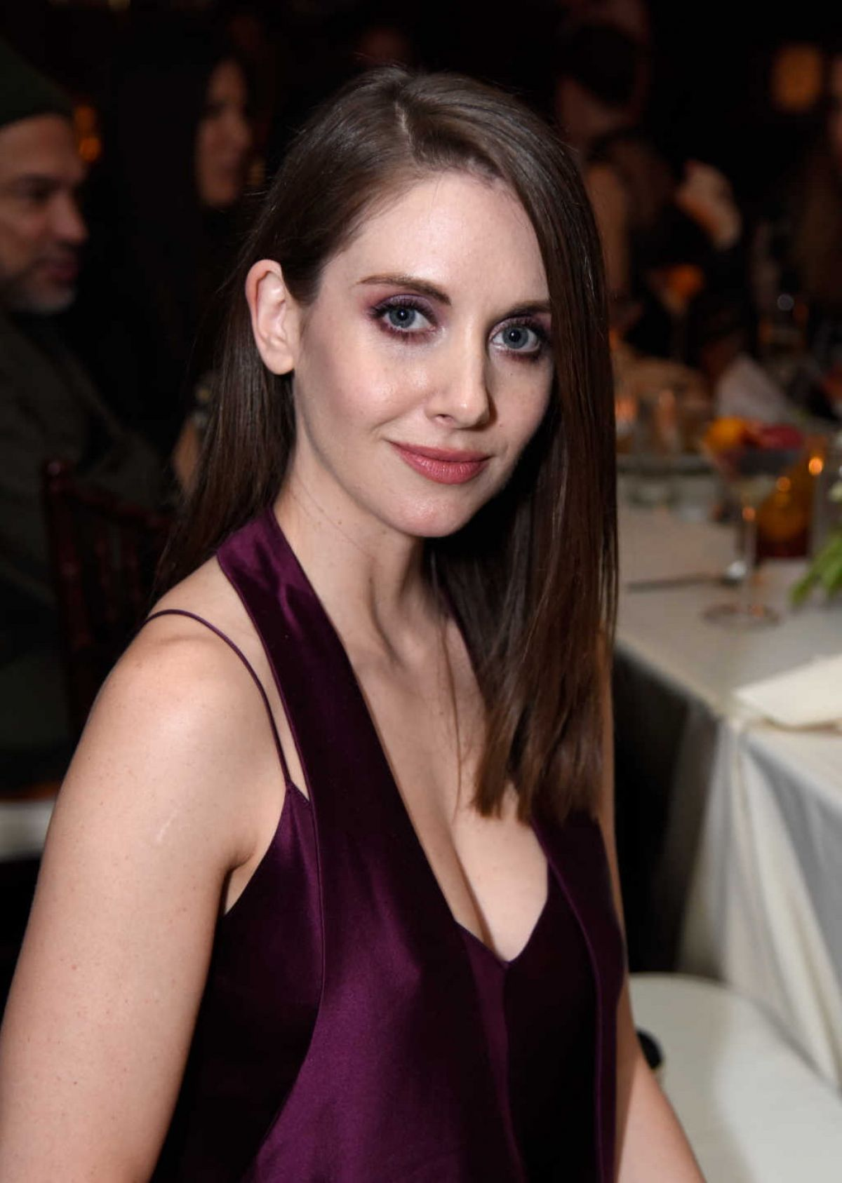 ALISON BRIE at Hollywood Reporter and Jimmy Choo