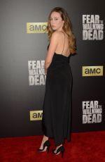 ALYCIA DEBNAM-CAREY at Fear the Walking Dead Season 2 Premiere in Los Angeles 03/29/2016