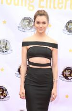 ALYSON STONER at Young Entertainer Awards in Universal City 03/20/2016