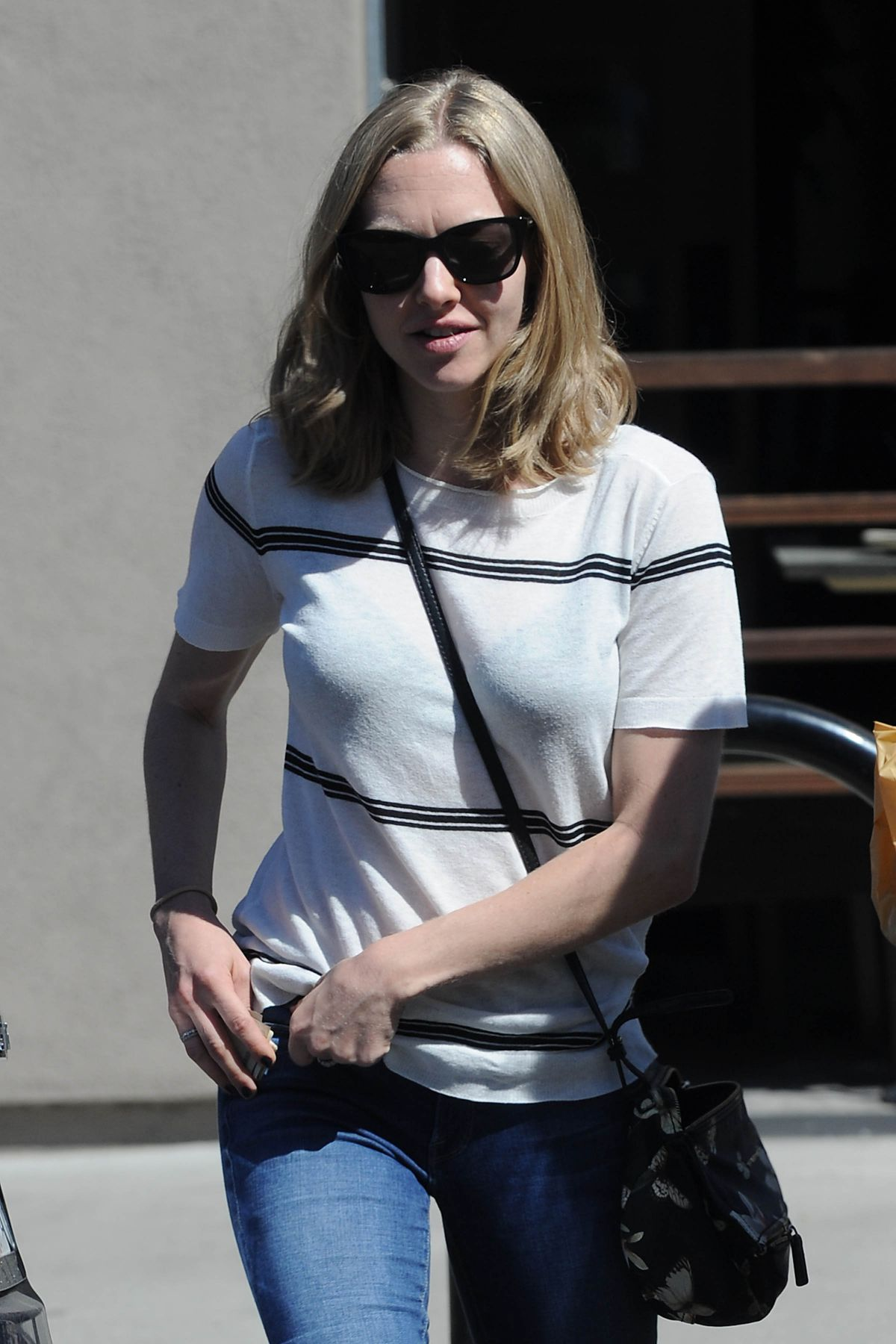 AMANDA SEYFRIED Out and About in Studio City 03/24/2016