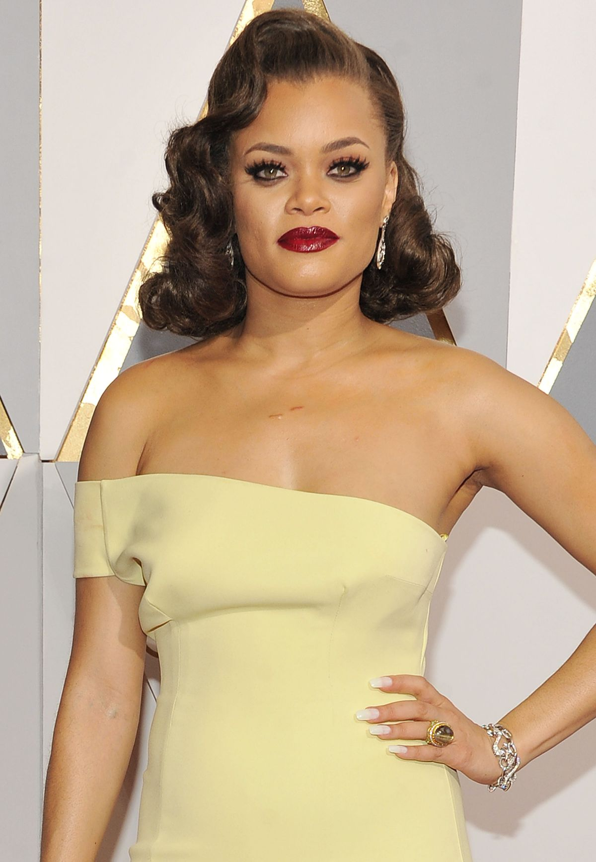 ANDRA DAY at 88th Annual Academy Awards in Hollywood 02/28/2016