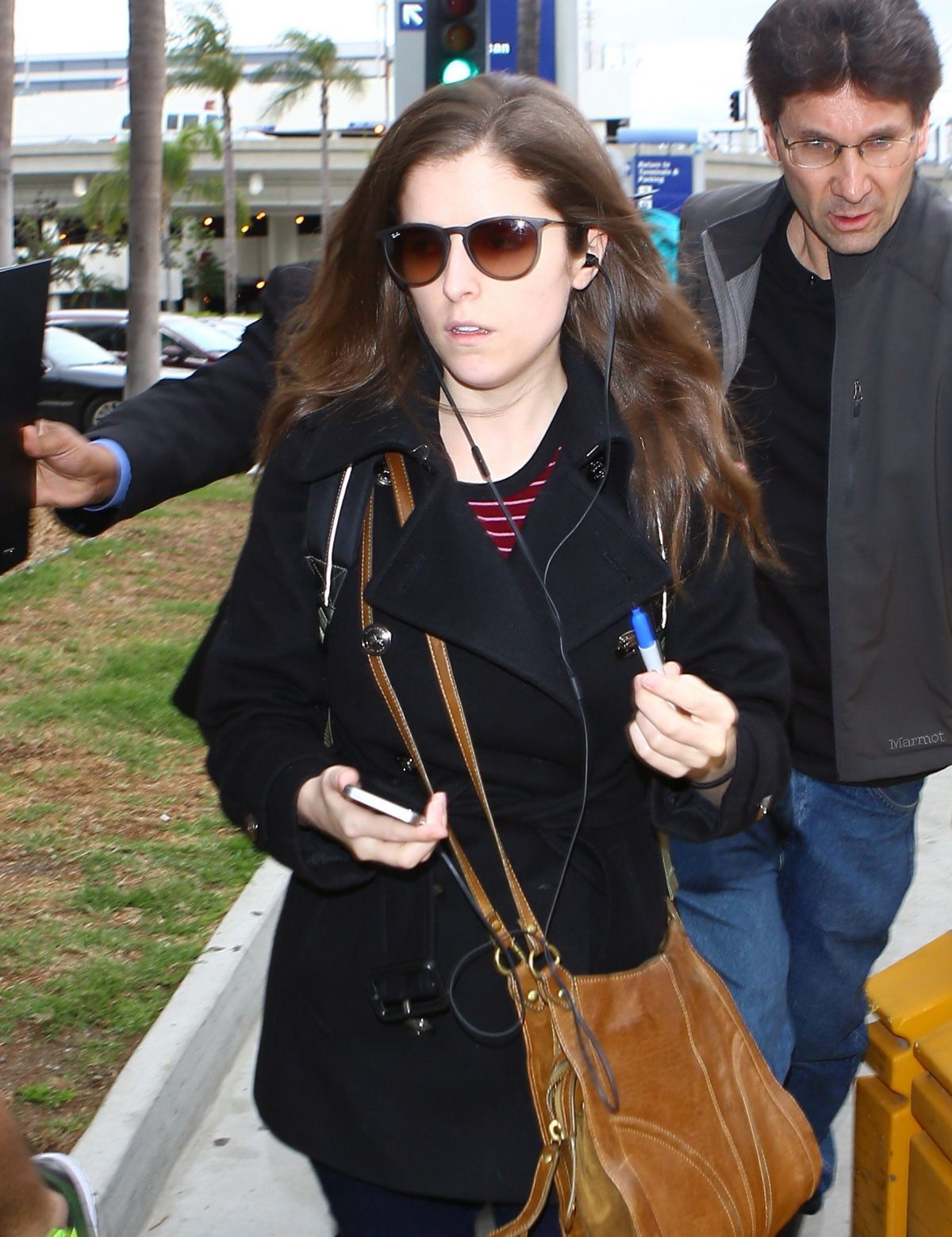 ANNA KENDRICK at Los Angeles International Airport 03/11/2016