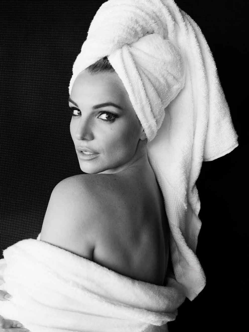 BRITNEY SPEARS by Mario Testino Towel Series
