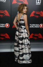 CAMREN BICONDOVA at 'Batman vs Superman: Dawn of Justice' Premiere in New York 03/20/2016