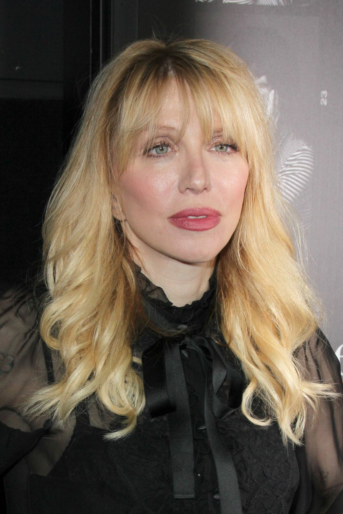 Courtney Love At Everything Is Copy Premier In Los Angeles