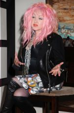 CYNDI LAUPER at Launch of New Slbum 'Detour' in Nashville 03/15/2016