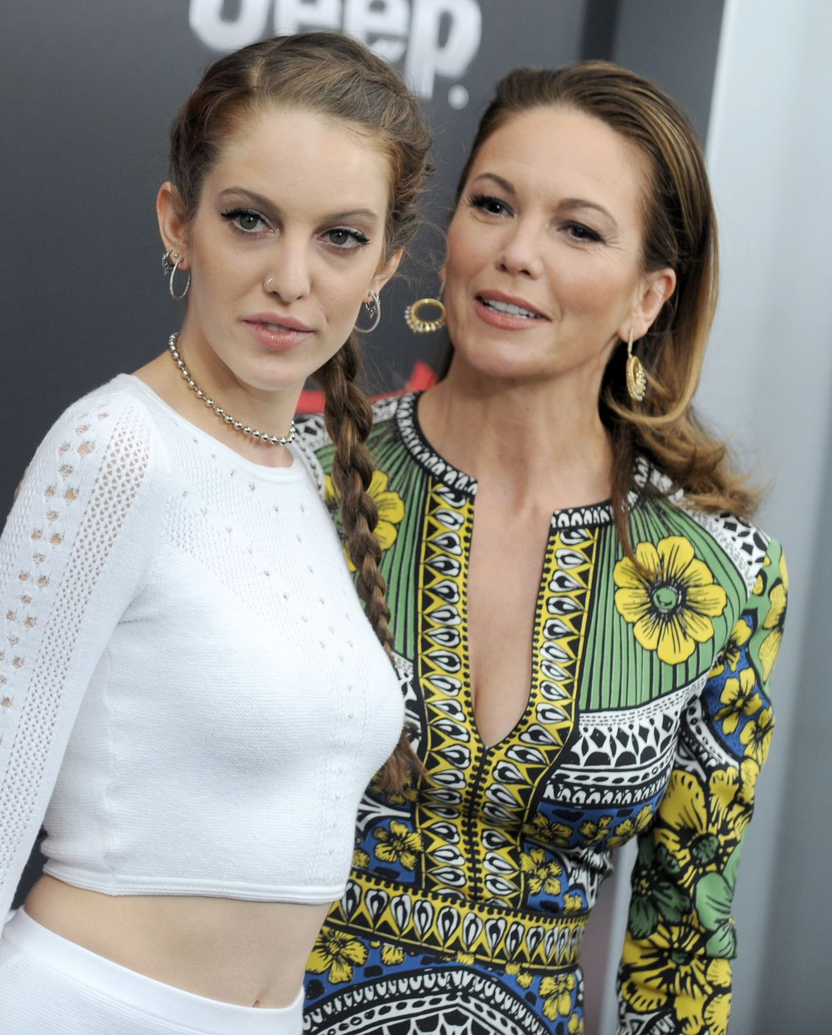 DIANE LANE and ELEANOR LAMBERT at Batman vs Superman: Dawn of Justice Premiere in New York 03/20/2016