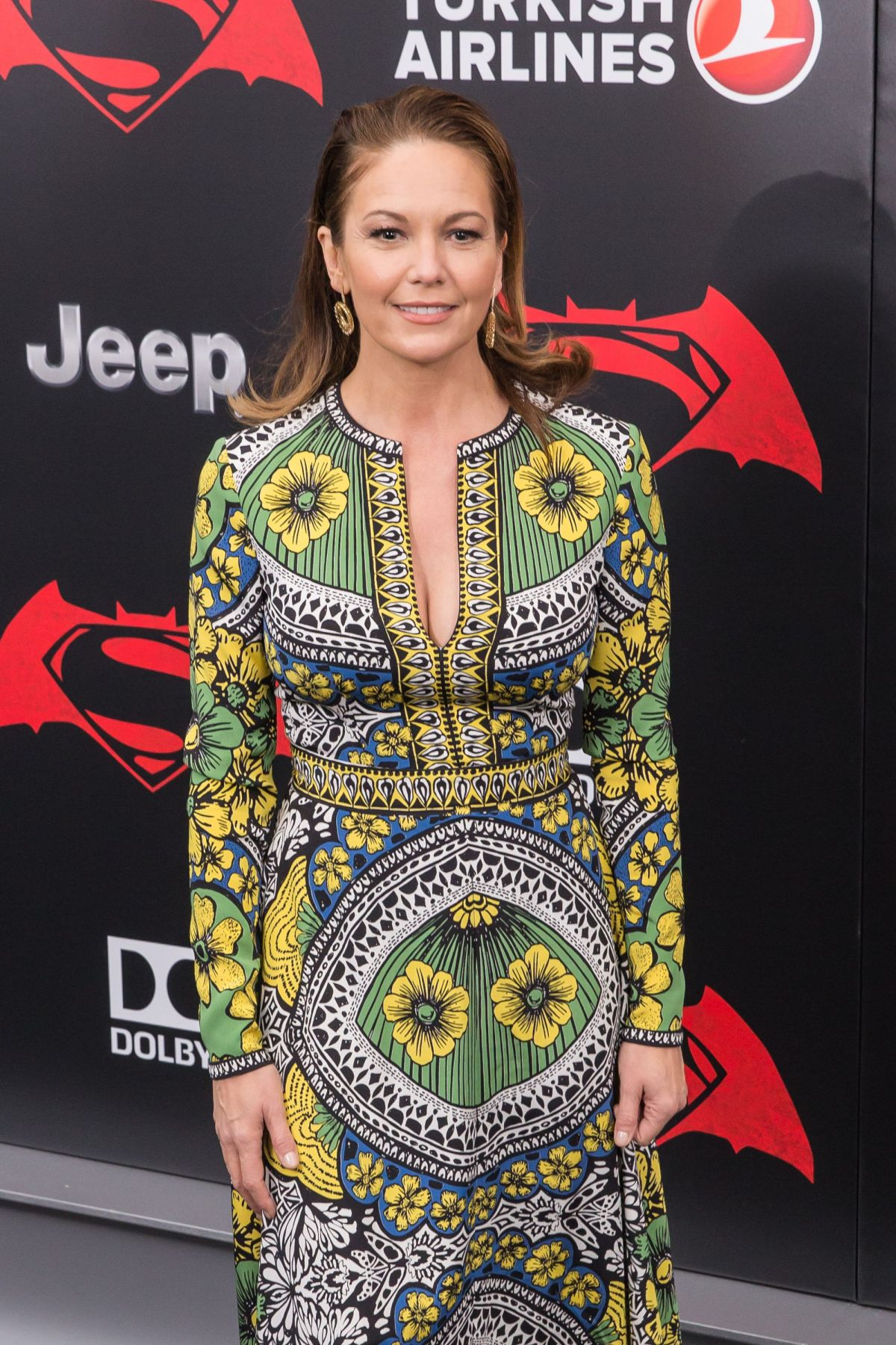 Superman hoodies for couples images amp pictures becuo - Diane Lane And Eleanor Lambert At Batman Vs Superman Dawn Of Justice Premiere In New