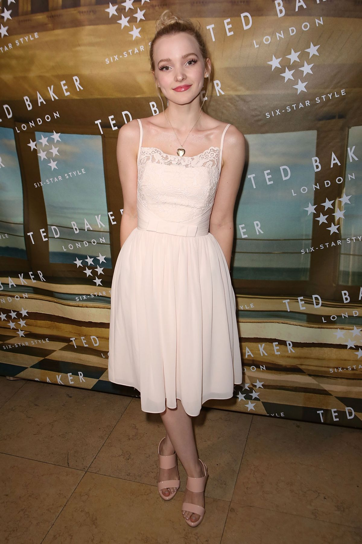 DOVE CAMERON at Ted Baker London ss