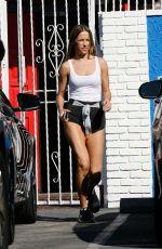 EDYTA SLIWINSKA Leaves DWTS Studio in Hollywood 03/17/2016