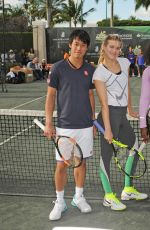 EUGENIE BOUCHARD at Cliff Drysdale 7th Annual Charity Event in Key Biscayne 03/22/2016